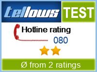 tellows Bewertung 080